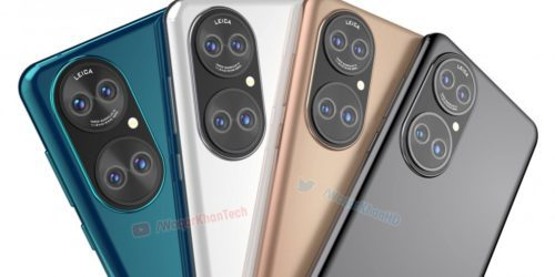 Rzekomy prototyp Huawei P50 wygląda co najmniej dziwnie