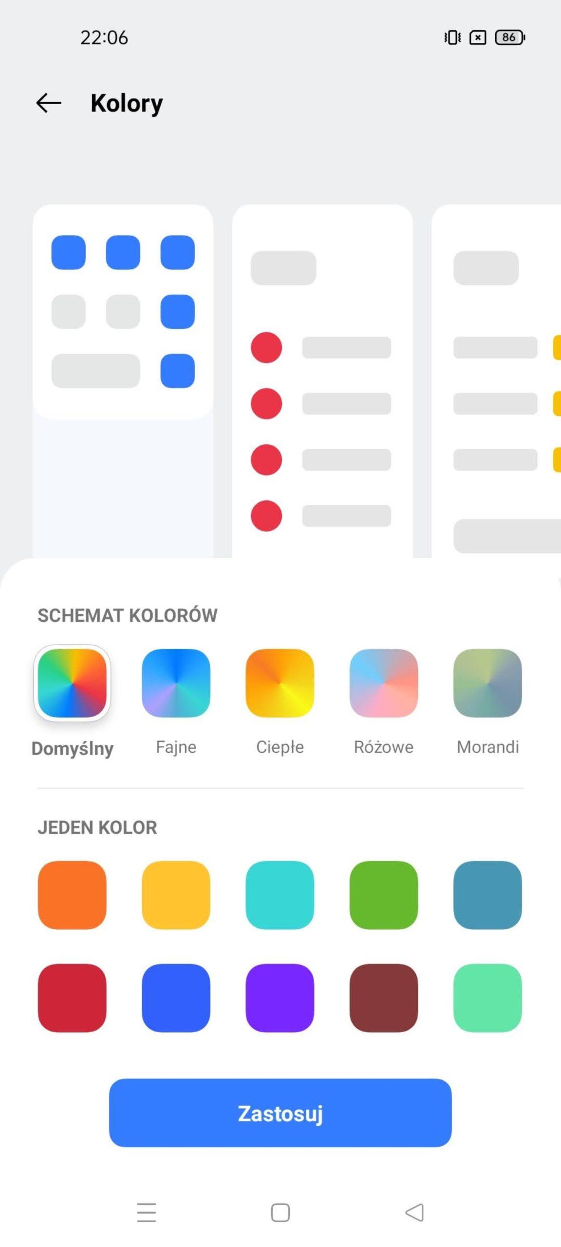 kolory realme ui 2.0