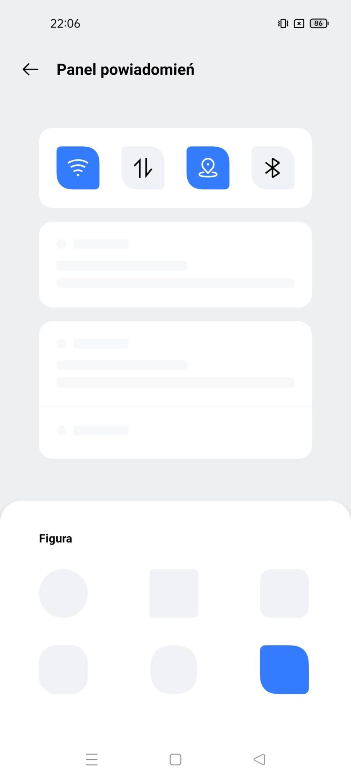 panel powiadomien personalizacje realme ui 2.0