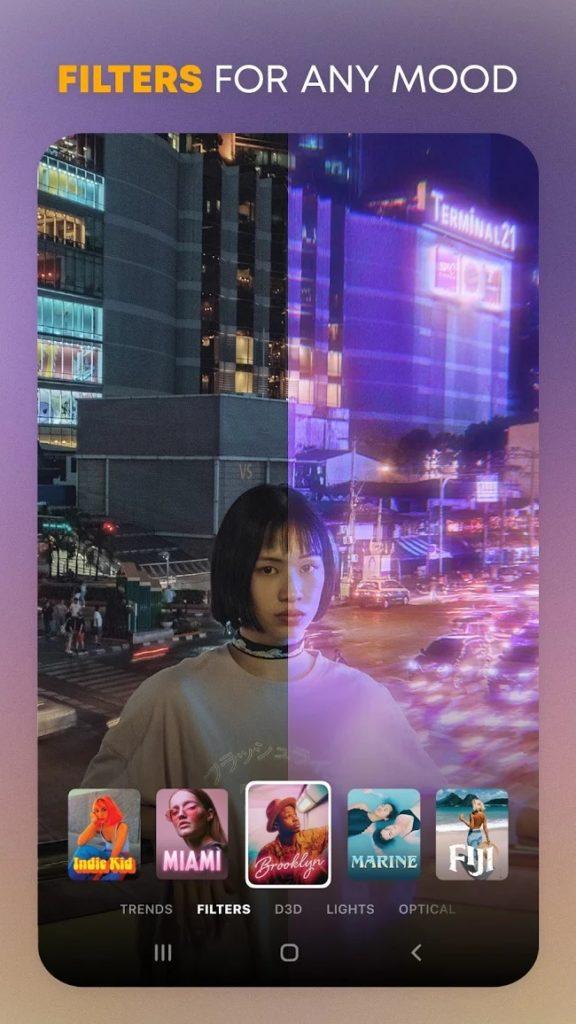 Prequel aplikacja do przeróbki zdjęć