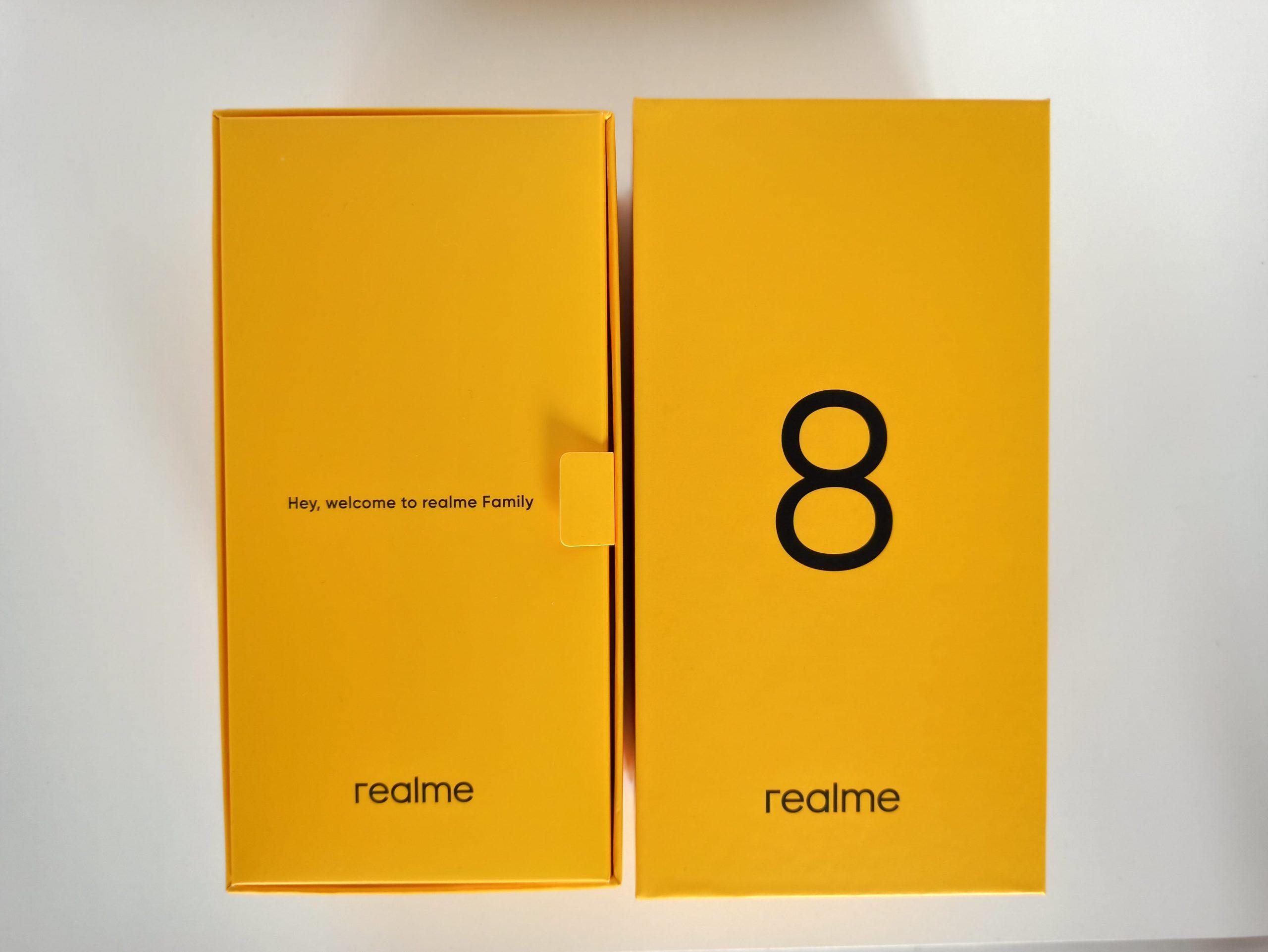 pudełko realme 8