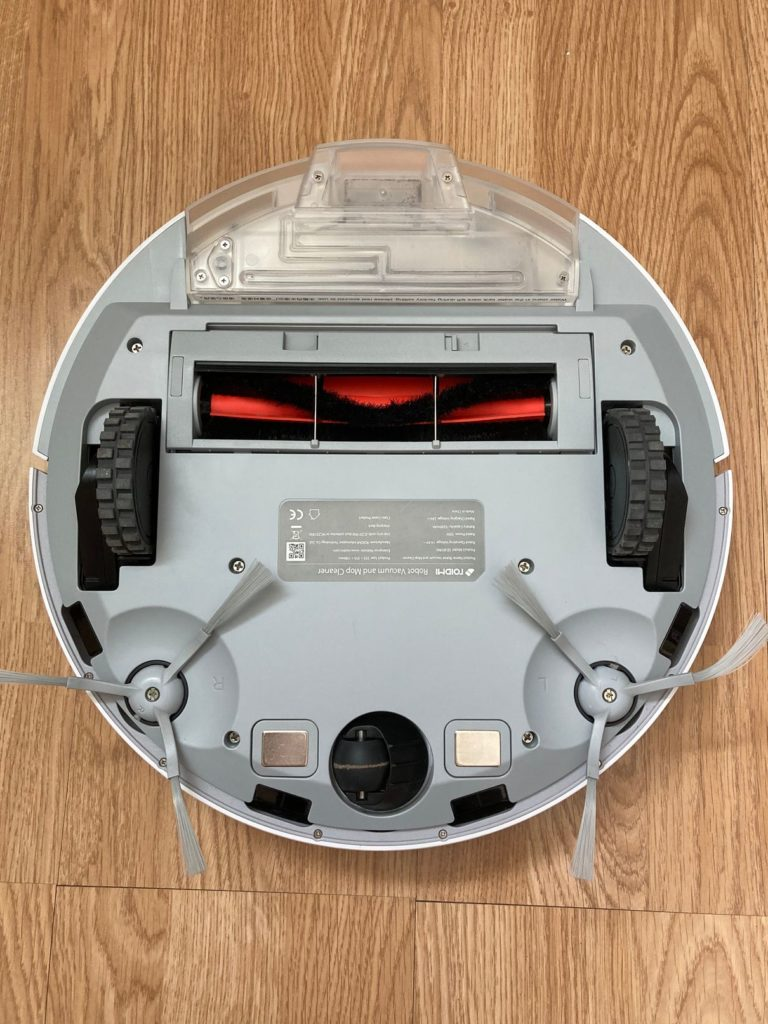 roidmi eve plus robot sprzątający spód