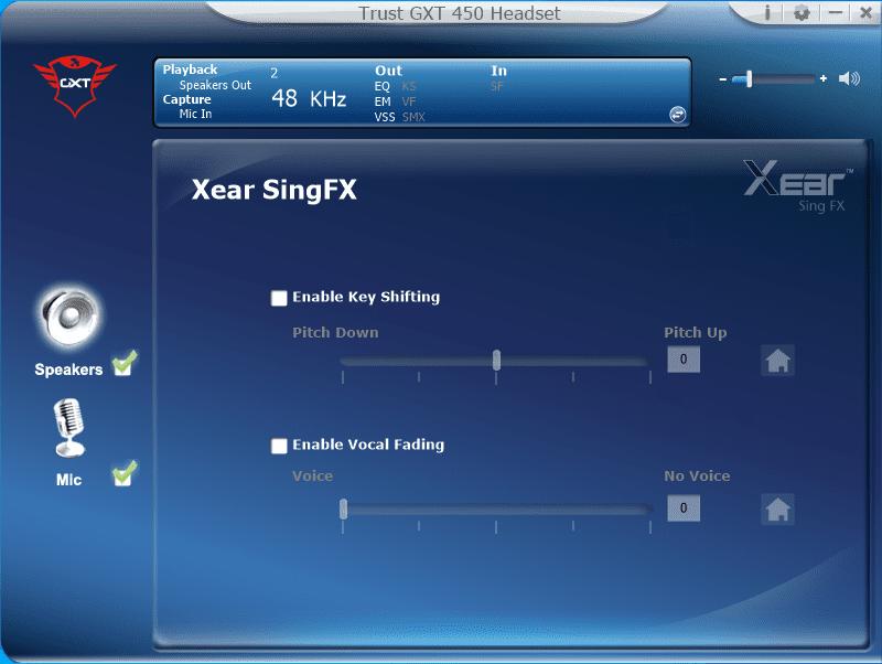 singfx GXT aplikacja