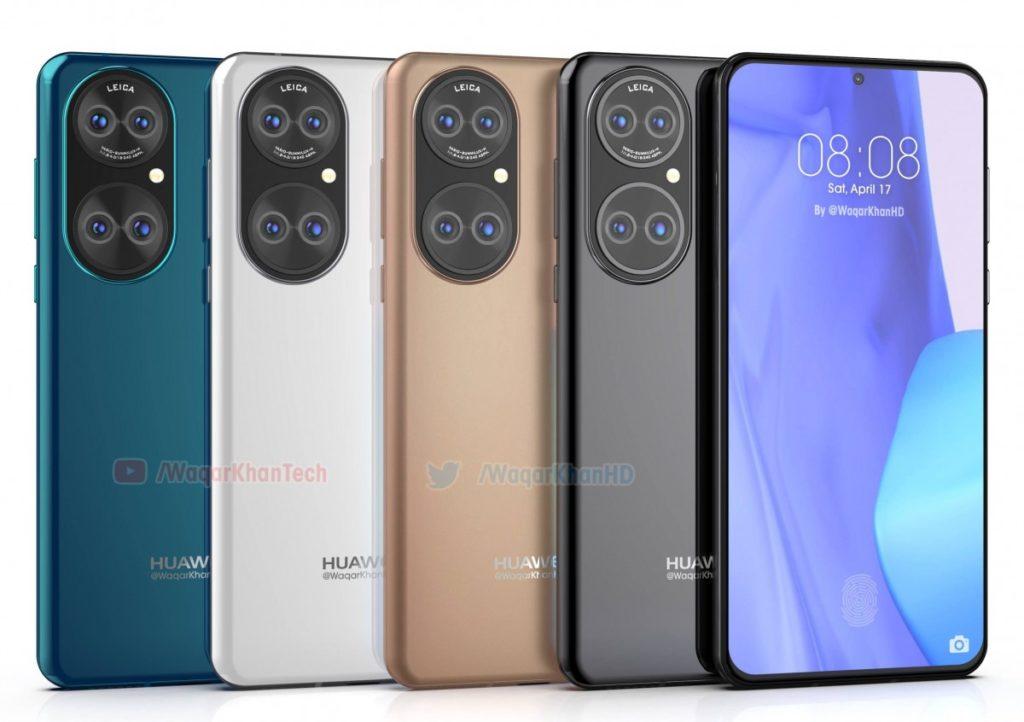 kolory Huawei P50 Pro