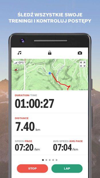 sports tracker aplikacja do biegania