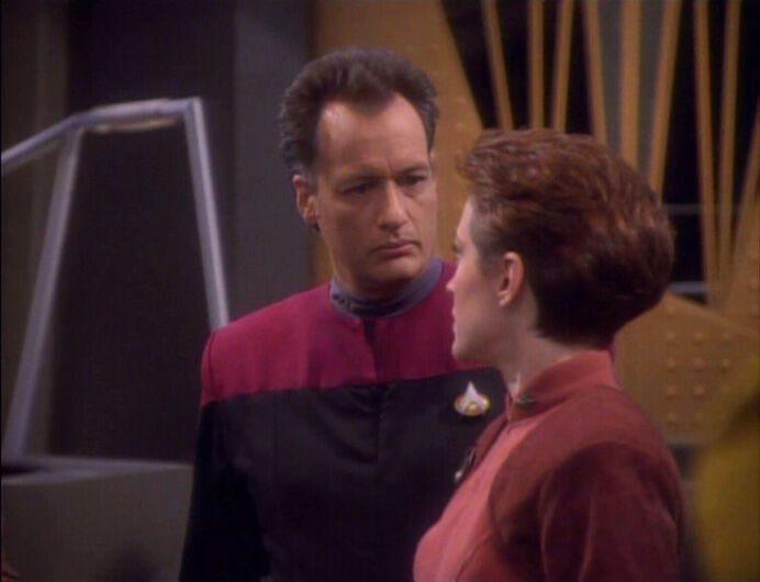 Star Trek Kira Q