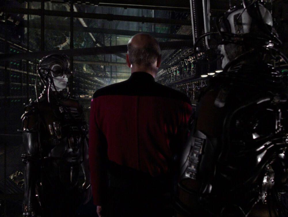 Star Trek Picard Borg