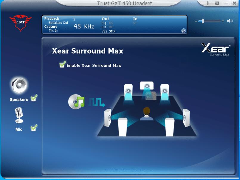 aplikacja surround max