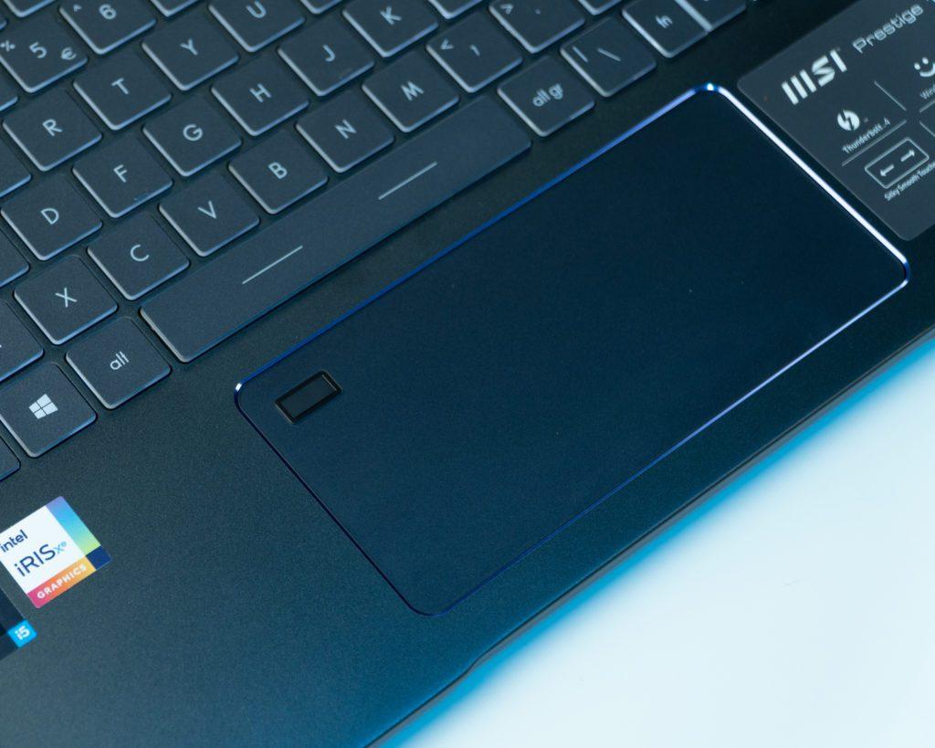 touchpad gładzik płytka dotykowa w MSI prestige 14Evo