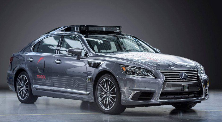 Toyota tworzy autonomiczny samochód