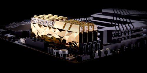 G.Skill odświeża serię luksusowych kości RAM. Złote i srebrne Trident Z Royale Elite już wkrótce na rynku