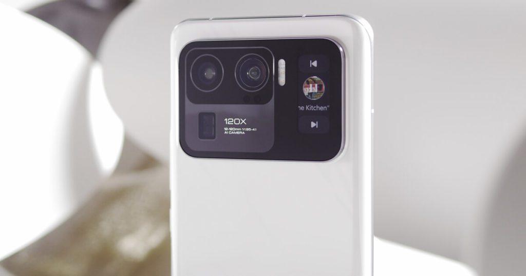 aparat w xiaomi mi 11 ultra