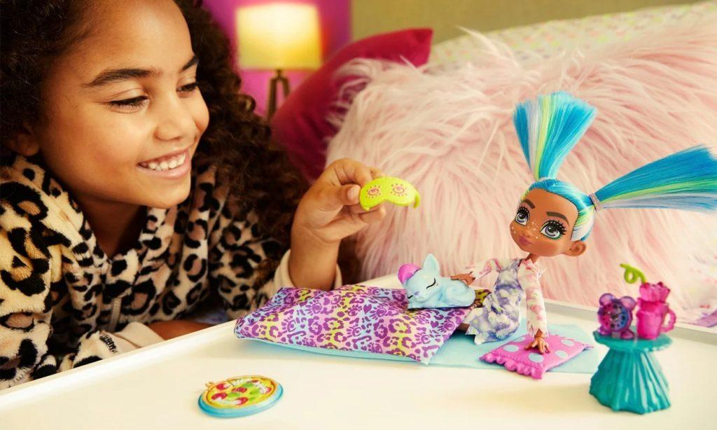 zabawka Mattel Cave Club Jaskiniowe Piżama Party Tella