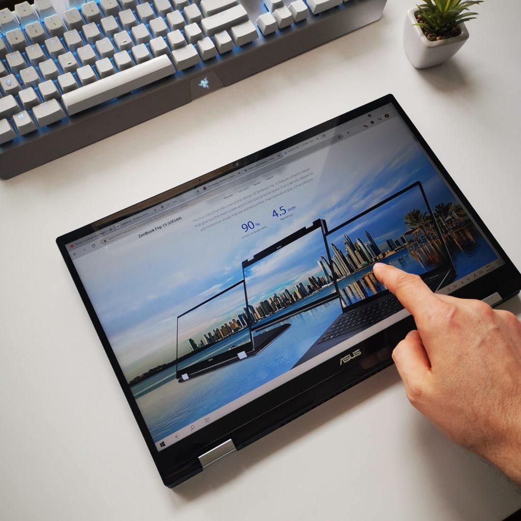 ASUS ZenBook Flip 16 UX564P dotykowy ekran