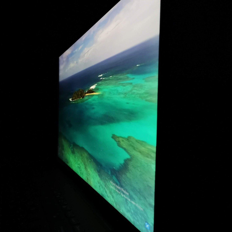 ASUS ZenBook Flip 16 UX564P kąty patrzenia prawa