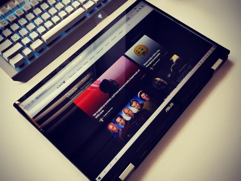 Recenzja ASUS ZenBook Flip 15 UX564P – elastycznego partnera kreatywnych