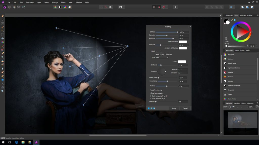 Affinity Photo program do obróbki zdjęć