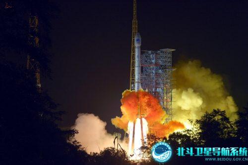 BeiDou start satelity