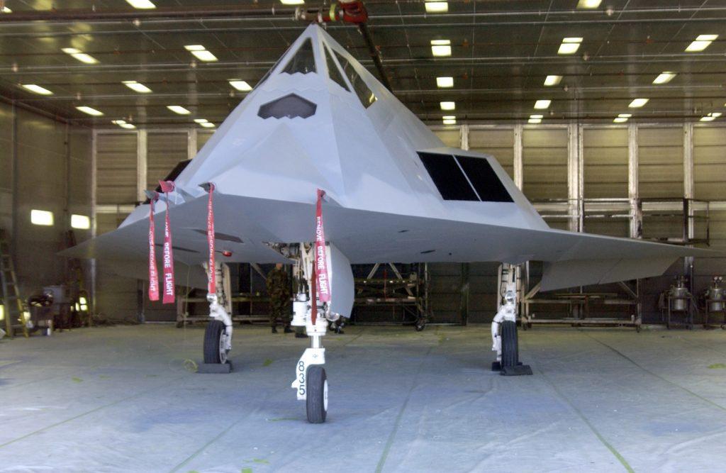 F-117 eksperymentalny kamuflaż