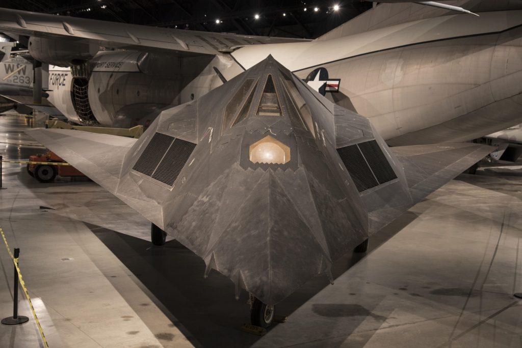 F-117 wloty i kokpit
