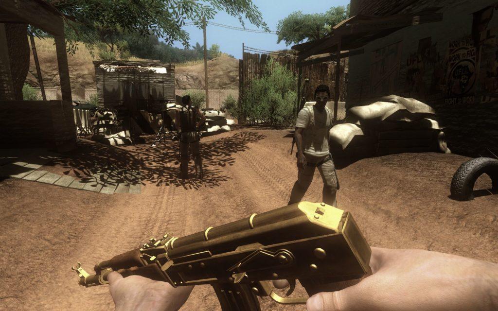 Far Cry 2 - złoty Ak-47
