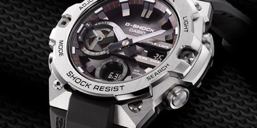 Casio GSTB400-1A. Najcieńszy G-SHOCK z serii G-STEEL