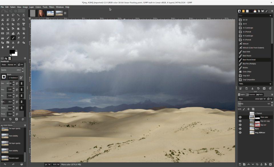 Gimp program do obróbki zdjęć