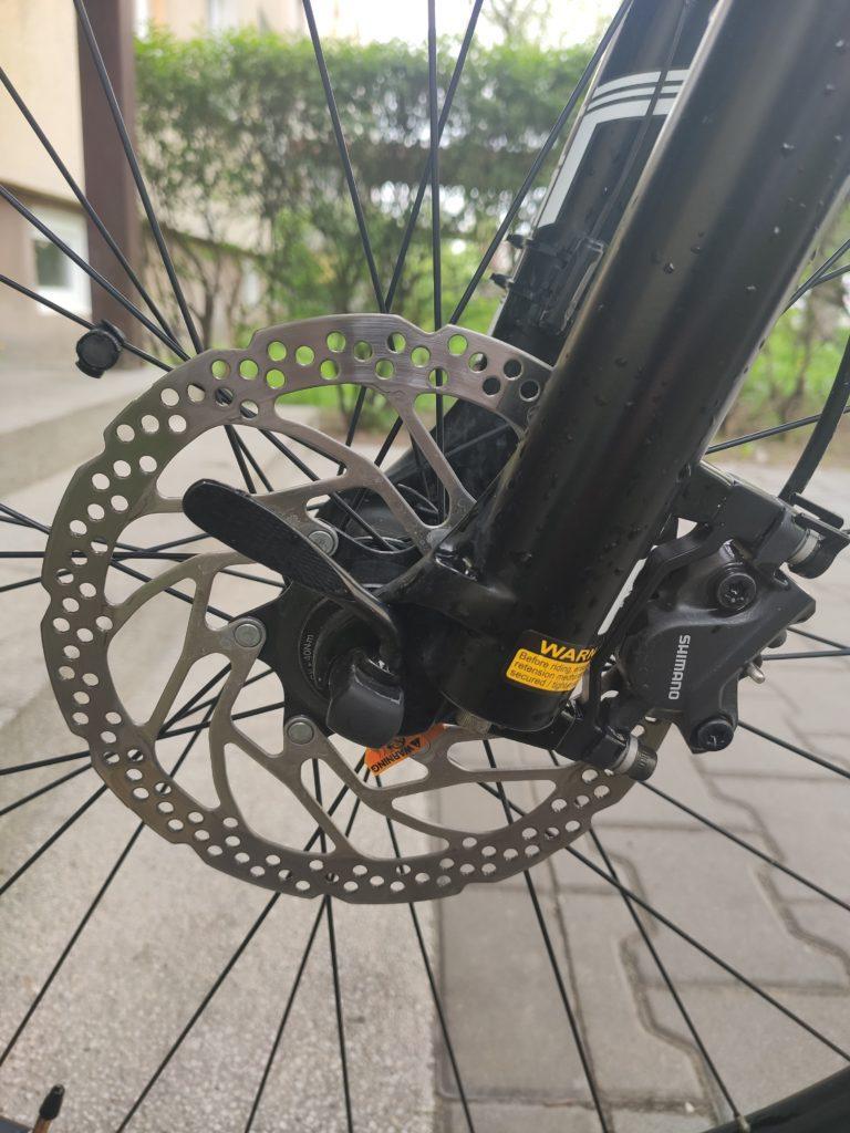 hamulec tarczowy w rowerze