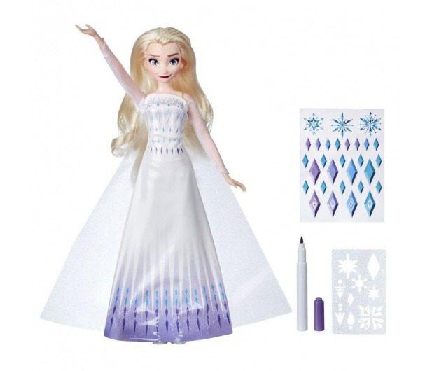 Hasbro Frozen 2 Lalka Elsa z suknią do malowania