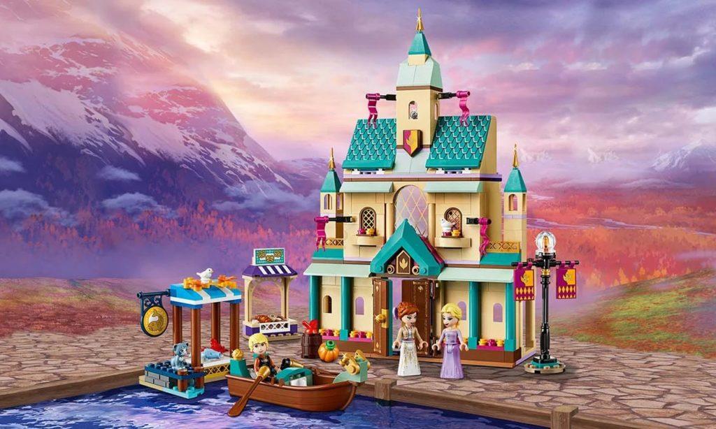 Zabawka Zamek z filmu Disneya Kraina lodu 2
