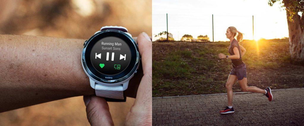 odtwarzacz MP3 na zegarku sportowym Suunto
