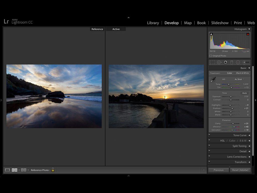 Adobe Lightroom program do obróbki zdjęć
