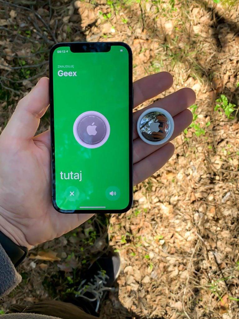 lokalizator apple odnaleziony