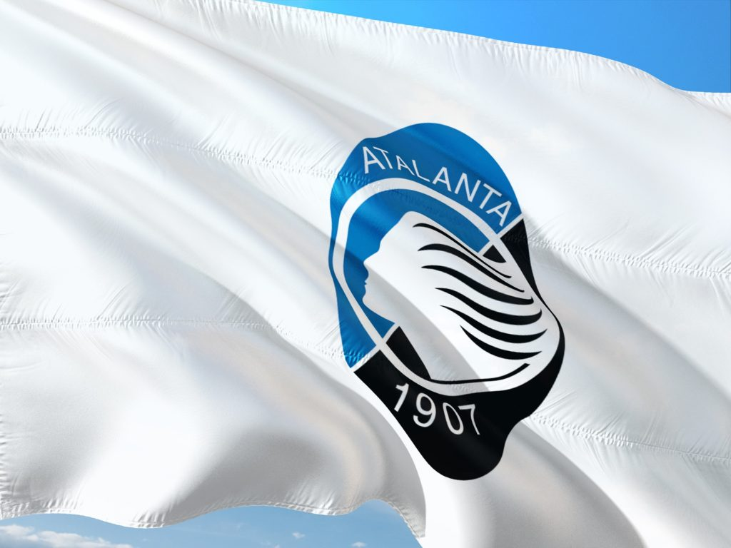 Atalanta Bergamo flaga