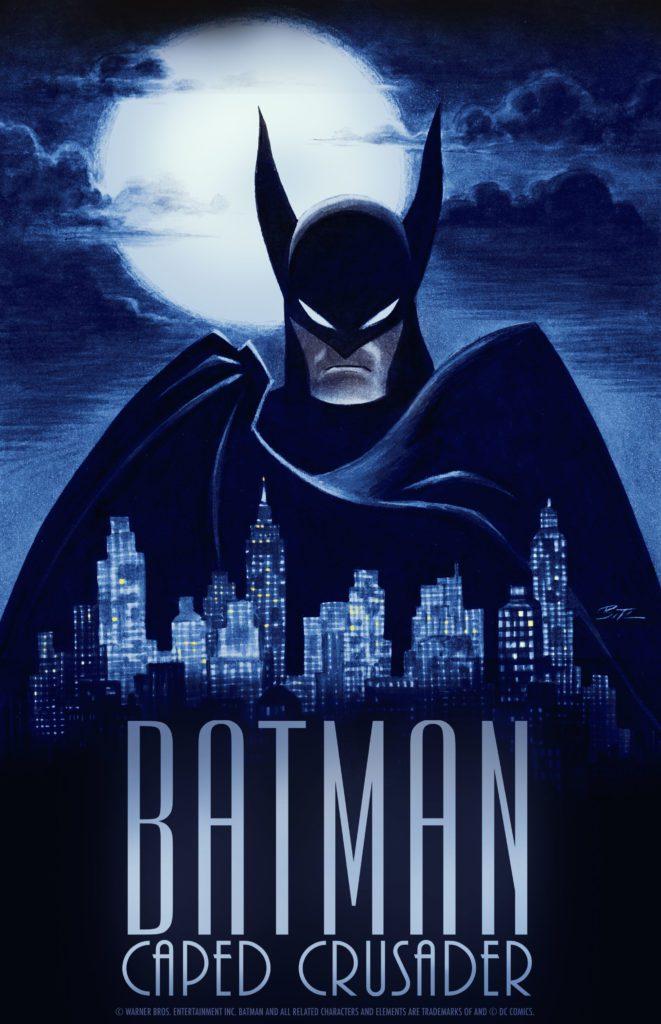 Batman: Caped Crusader plakat