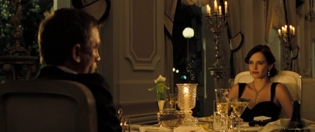 Casino Royale kolacja z Vesper kuchnia Jamesa Bonda