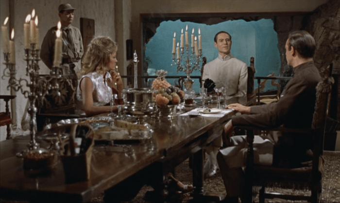 Doktor No kolacja kuchnia Jamesa Bonda
