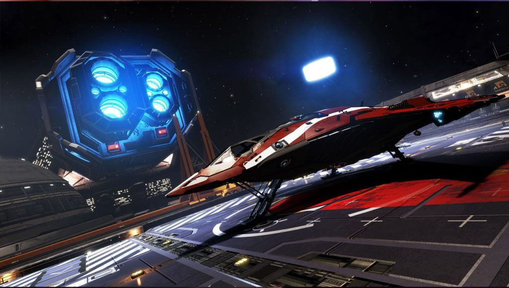 Elite Dangerous statek kosmiczny