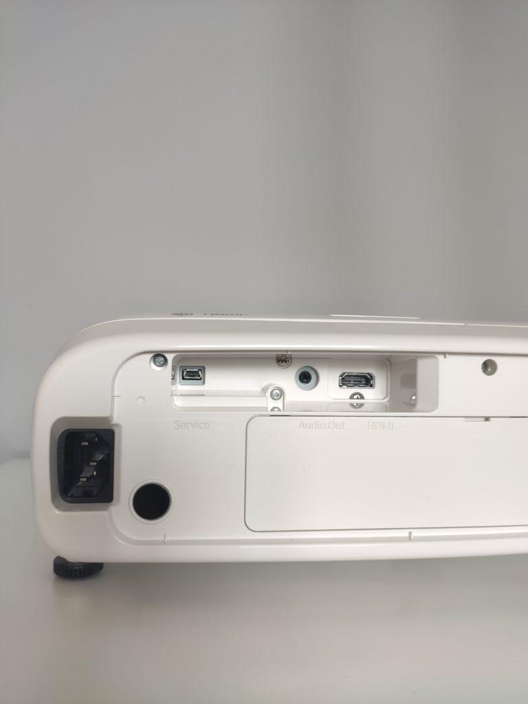 złącza w projektorze epson eh-tw5820