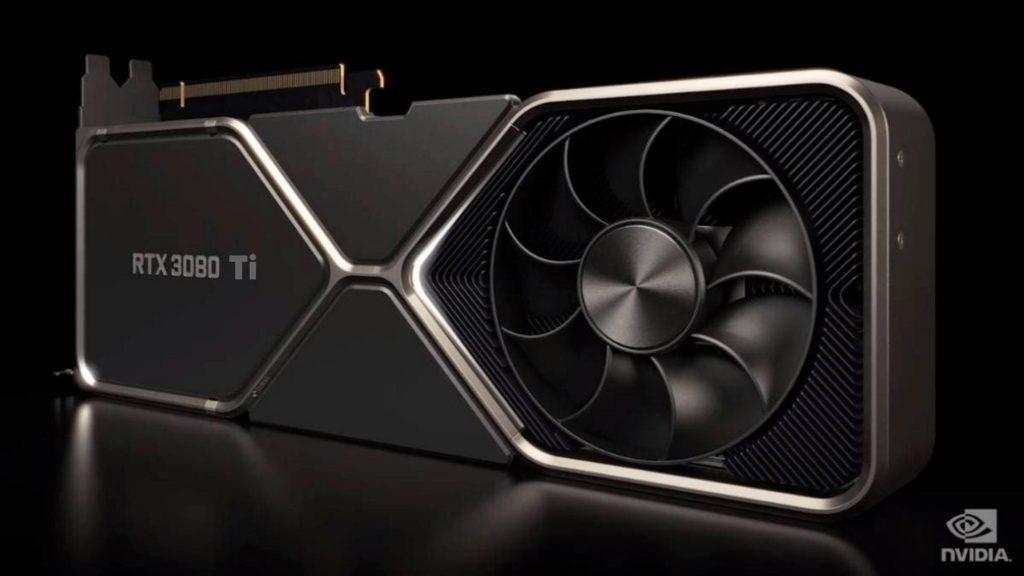 GeForce RTX 3080 Ti wygląd