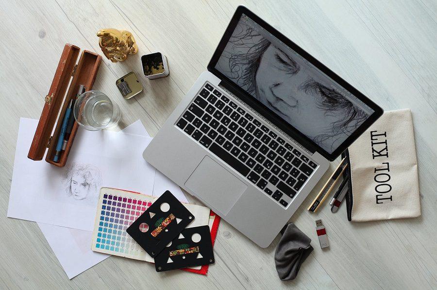 Grafika cyfrowa rysowanie w aplikacji
