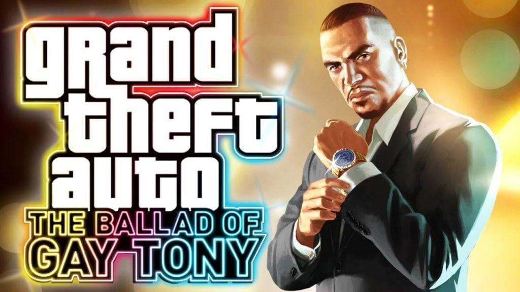 GTA 4 the Ballad of Gay Tony