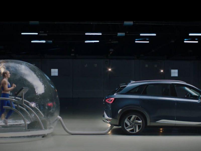 Spalinami Hyundaia Nexo można oddychać. Wszystko dzięki wodorowi