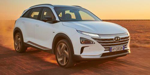 Napędzany wodorem Hyundai Nexo ustanowił nowy rekord dystansu pokonanego na jednym baku paliwa