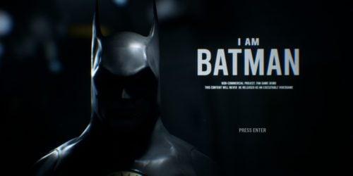 """I Am Batman"" – fanowska gra oparta na Batmanie według Tima Burtona"
