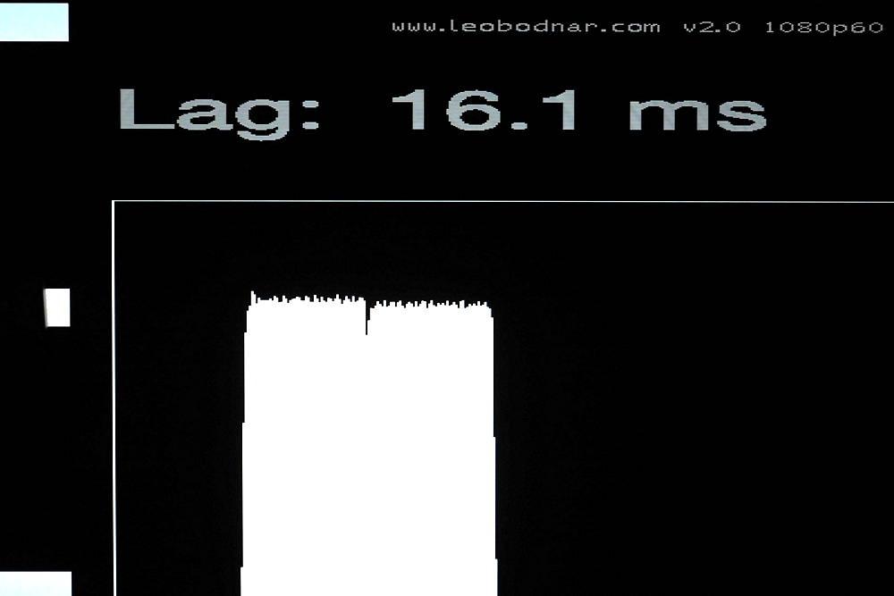 input lag telewizora sony xr55a90j