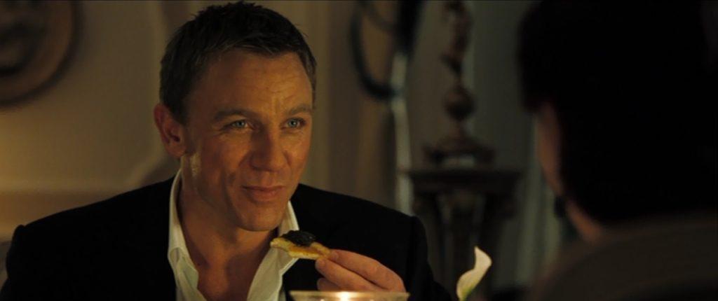 James Bond kawior kuchnia Jamesa Bonda