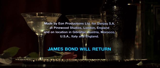 James Bond powróci