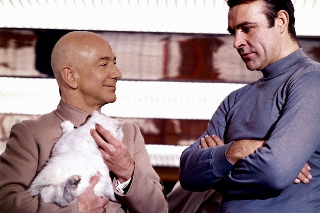 Jeff Bezos Blofeld Bond