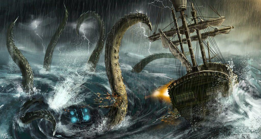 Kraken – legendarny stwór morski
